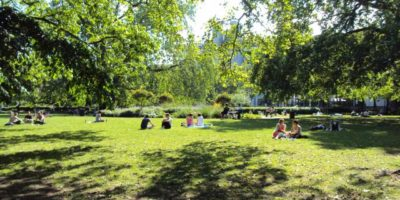 Parks Charter, People in Brunswick Square
