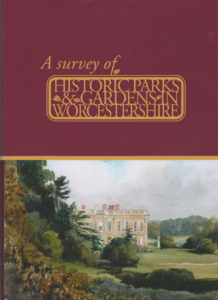 CGT Publications: cover of A Survey of Historic Parks and Gardens in Worcestershire