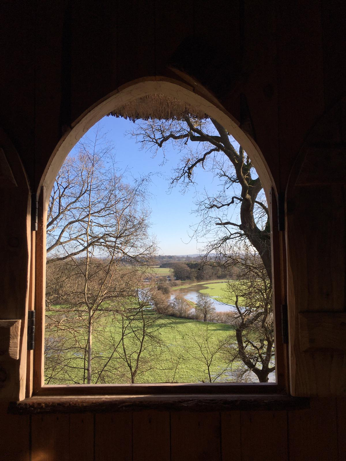 Painshill view from the Hermitage window