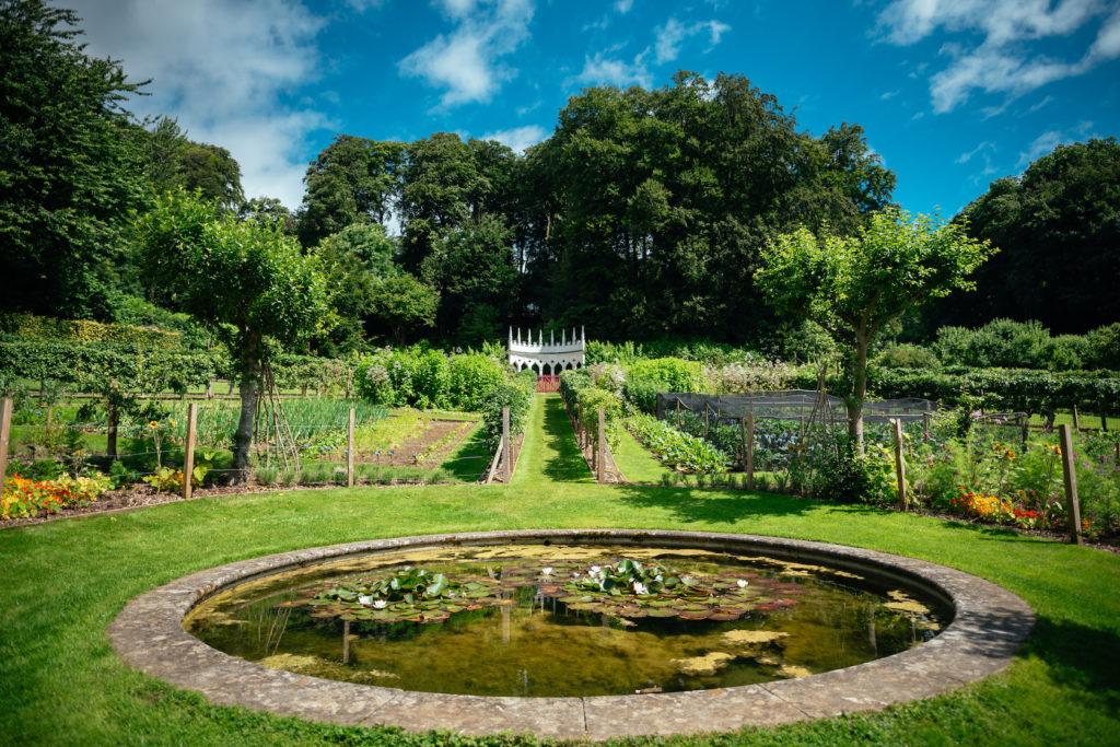 View of Painswick Rococo Garden, Photo © Joab Smith