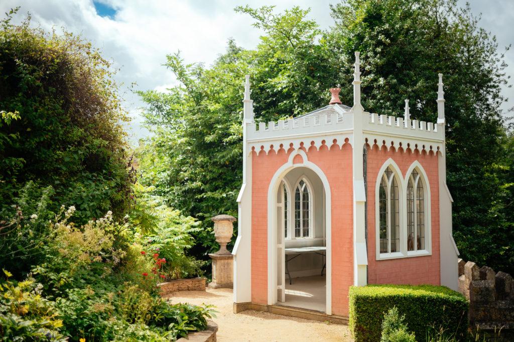Painswick Rococo Gardens, Eagle House Photo by Joab Smith