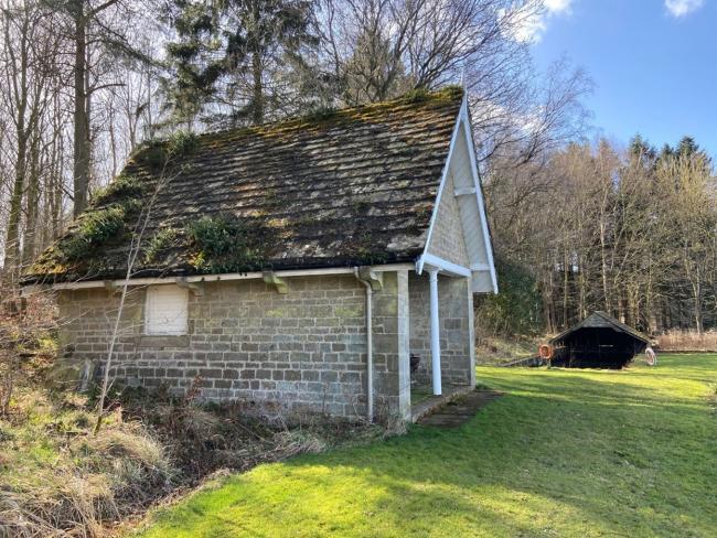 Capheaton boathouse, subject of glamping consultation