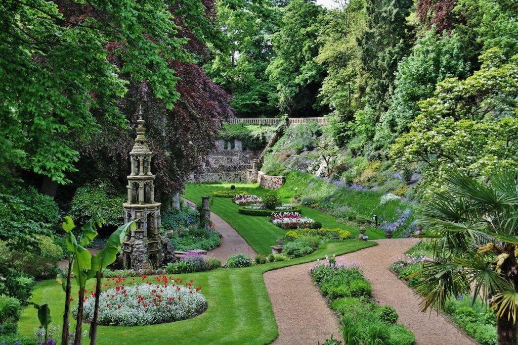 View of Plantation Garden, Norwich
